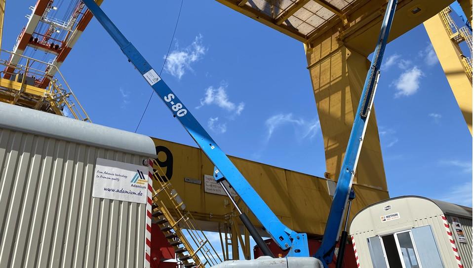 Korrosionsschutz an Containerbrücken